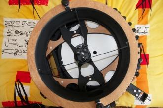 Detail pavouka sekundarniho zrcatka