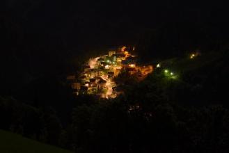Detailnejsi pohled - prvni noc po prijezdu