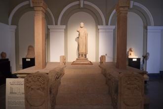 Model starověké terasy