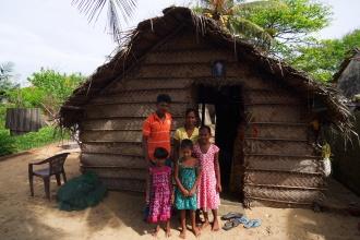Ranjan Jens a jeho rodina.