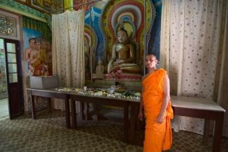 Celkem nezvykle upovídaný mnich