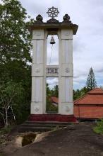 Klasická buddhistické zvonice