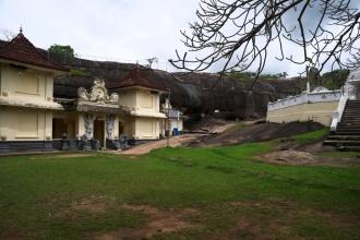 Vestavěný chrám ve skále