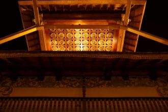 Zlatá střecha nad nádvořím