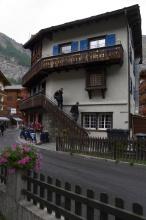 Ubytování v Zermattu.