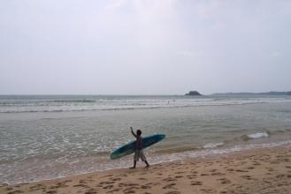 Weligama - ráj surfařů.