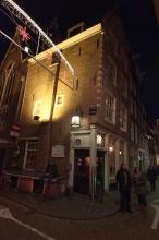 Uličky starého Amsterdamu