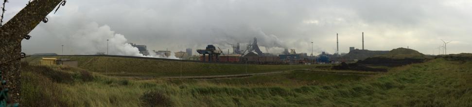 Tohle je opravdu fotka ze západního Holandska, pár metrů od pláže ... (na klik plné rozlišení)