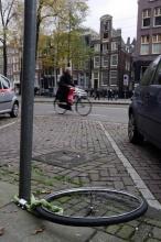 I v Holandsku se dá přijít o kolo ...nebo aspoň o jeho podstatnou část :(
