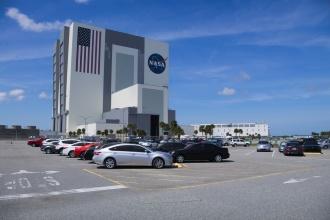Přípravná budova pro lety Saturn V a raketoplány.