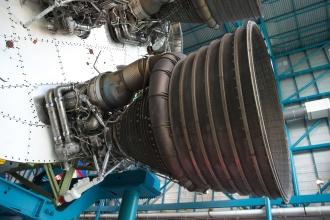 Motor s tryskou Saturnu V