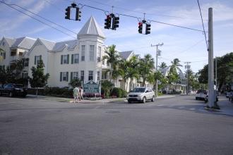 Uličky v Key West.