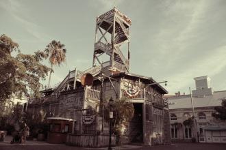 Staré centrum Key West - v dobovém filtru :)