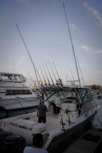 Moderní Key West - rychlé jachty a rybaření.