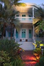Jeden z domků v Key Westu.