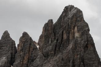 Masiv monte Paterno (Paternkofel), kam jsme už nedošli.