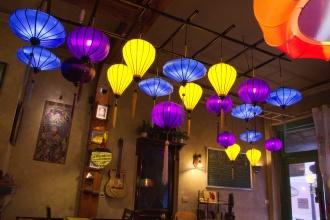 Turistická restaurace v Sapě.