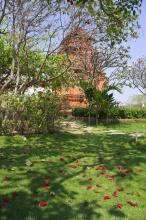 Čamské věže u Mui Ne.
