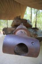 Vystavená kořist (US tank).