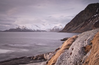 Břeh u Grøtfjord