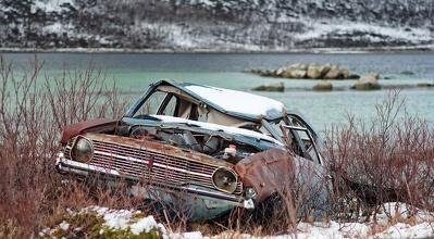 Jaro vydalo důkaz o hrozném konci auta cestovatelova ...