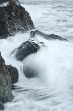 Peřeje u jižních břehů Islandu.